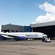 Самолёт «Белавиа» задел фонари в аэропорту «Борисполь»