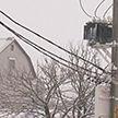 Первый обильный снегопад: более ста населённых пунктов накануне оказались без света