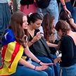 В Каталонии проходят акции протеста против приговоров по делу о референдуме