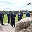 Лукашенко посетил Голубую криницу в Славгородском районе