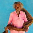 Житель Индии 40 лет не мыл голову и отрастил волосы до земли