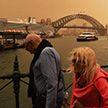Австралию накрыла гигантская песчаная буря