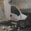 В Пуховичском районе столкнулись два грузовика