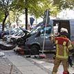 Автомобиль протаранил толпу в Берлине