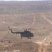 На полигоне «Брестский»  проходит тактическое учение белорусских десантников