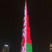 Бурдж-Халифа окрасился в цвета белорусского флага в честь Дня Независимости