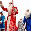 Парад Дедов Морозов и Снегурочек прошел в Борисове
