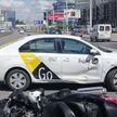 Таксист сбил мотоциклиста в Минске