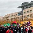 Немецкая полиция разогнала акцию протеста левых радикалов в центре Берлина