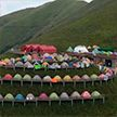 Самая длинная вереница из палаток попала в Книгу рекордов Гиннеса