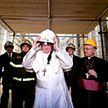 Папа Римский отслужил мессу в разрушенном храме
