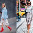 7 модных идей, как носить платье даже в прохладную погоду