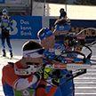 Продолжается чемпионат мира по биатлону. Белорусы заняла 15 место в одиночной смешанной эстафете