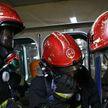 Пожар произошел в одном из общежитий Новополоцка. Проживающий там сотрудник МЧС спас жизнь пенсионеру