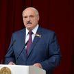 Лукашенко принимает участие в торжественном собрании ко Дню Независимости Беларуси