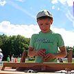 В столичном Парке Победы открылась детская футбольная фан-зона