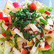 Постный салат. Рецепт лёгкого и полезного блюда от телеведущей Екатерины Тишкевич