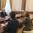 Владимир Андрейченко провел переговоры с послом Австрии в Беларуси