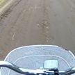 Большегрузы превратили дорогу в деревне под Слуцком в полосу препятствий
