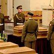 Останки Кастуся Калиновского торжественно перезахоронили в Вильнюсе. Как прошла церемония