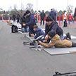 «Снежный снайпер-2020». Областной этап турнира по биатлону собрал более 300 юных спортсменов в Гомеле