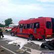 Трагедия: фура протаранила маршрутку на Брестчине
