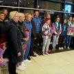 В Минске встретили триумфаторов чемпионата мира по гребле на байдарках и каноэ