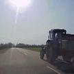 Пьяный тракторист пытался уйти от погони ГАИ в Логойском районе (ВИДЕО)