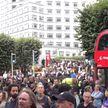 В Лондоне жестко разогнали митинг антипрививочников