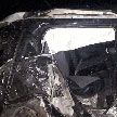 Столкновение фуры и двух автомобилей на трассе М1 попало на видео