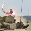 II Европейсике игры: «Пламя мира» побывало на Линии Сталина и Кургане Славы
