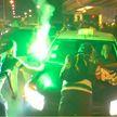 Столкновения футбольных фанатов с полицией произошли в Португалии