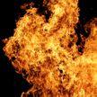 МАЗ с зерном горел в Барановичском районе
