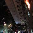 Общежитие БГМУ загорелось в Минске