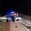 ДТП под Гродно: столкнулись Infiniti и Audi – спасатели деблокировали женщину