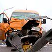 Автобус и маршрутка столкнулись на улице Матусевича в Минске: пострадали семь человек