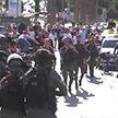 Израильская полиция применила дубинки и шумовые гранаты для разгона протестующих палестинцев