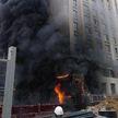 В Екатеринбурге горело 16-этажное здание