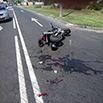 МАЗ сбил мотоциклиста в Полоцке
