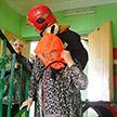 Во время пожара в общежитии на улице Гагарина в Витебске эвакуировали 44 человека