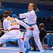 В полуфинал турнира по карате II Европейских игр прошла белоруска Мария Кулинкович