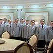 Молодые сотрудники Следственного комитета побывали на экскурсии во Дворце Независимости