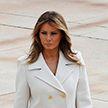 Мелания Трамп вышла в свет в белом пальто Gucci за $3500 и восхитила поклонников