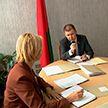 Прием граждан в Совете Республики провел председатель комиссии по законодательству и госстроительству