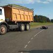 Пятилетний пассажир мопеда погиб при столкновении с грузовиком в Ивановском районе