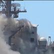 Пожар на корабле ВМС США: на ликвидацию понадобилось 6 дней
