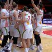 Женская сборная Беларуси по баскетболу пробилась в полуфинал чемпионата Европы