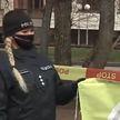 В Литве полицейских обделили вакциной, и они вышли на протест