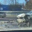 ДТП на проспекте Независимости в Минске: столкнулись четыре автомобиля