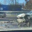 ДТП на проспекте Независимости в Минске: столкнулись не менее трех авто